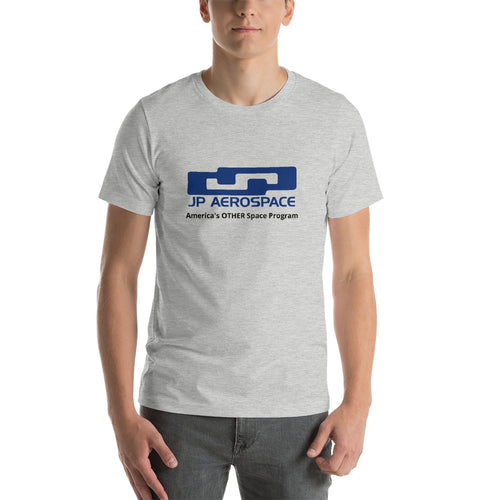 JPA Logo Grey Short-Sleeve Unisex T-Shirt - Dark Sky Market