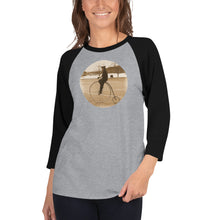 Load image into Gallery viewer, Penny-Farthing 3/4 sleeve shirt - Dark Sky Market