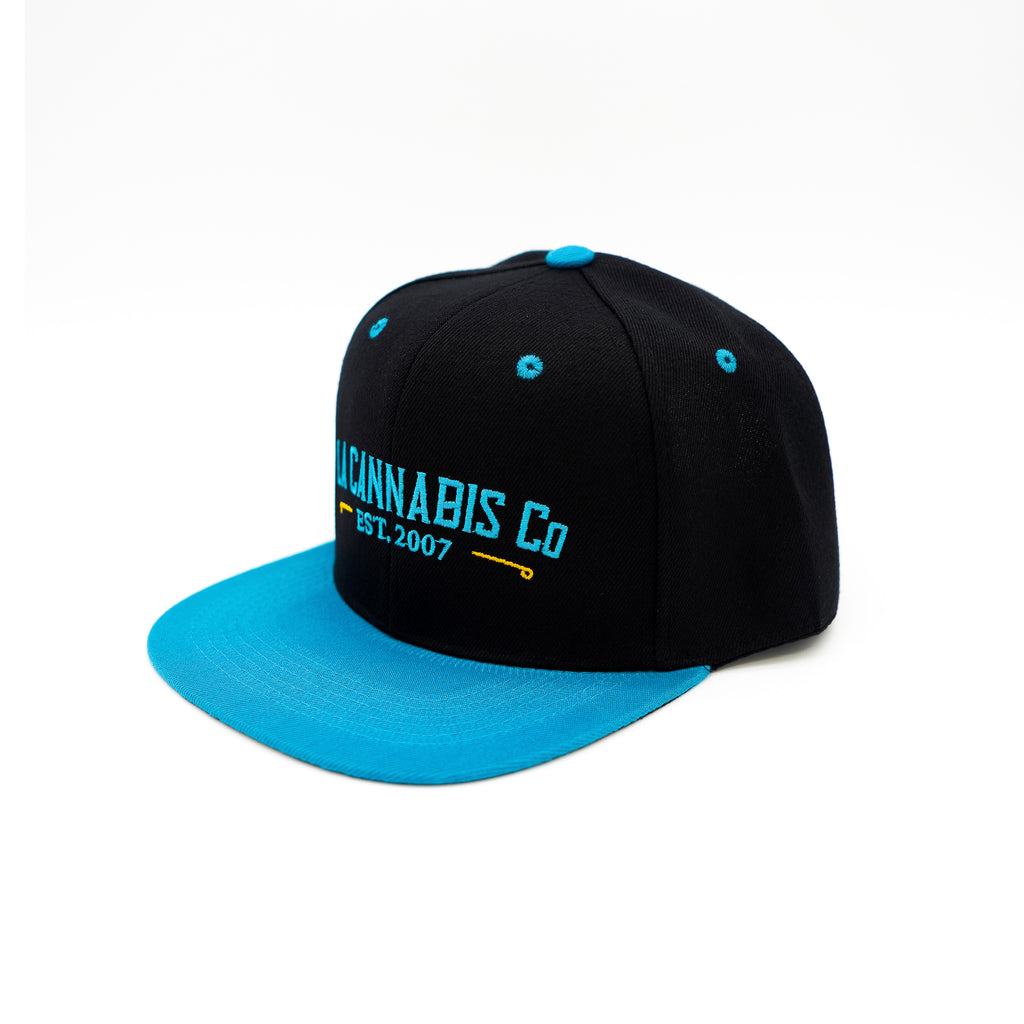 Home Team Snapback - Black & Turqouise