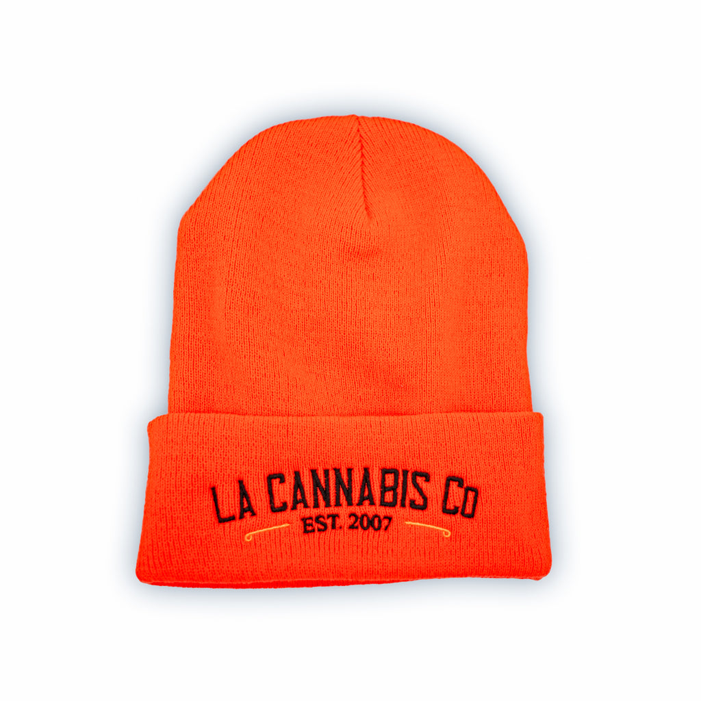 Neon OG Beanie - Fluorescent Orange