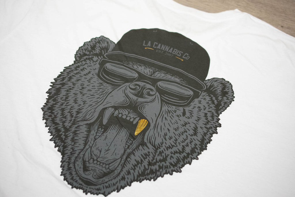 Cali Bear T-Shirt - White