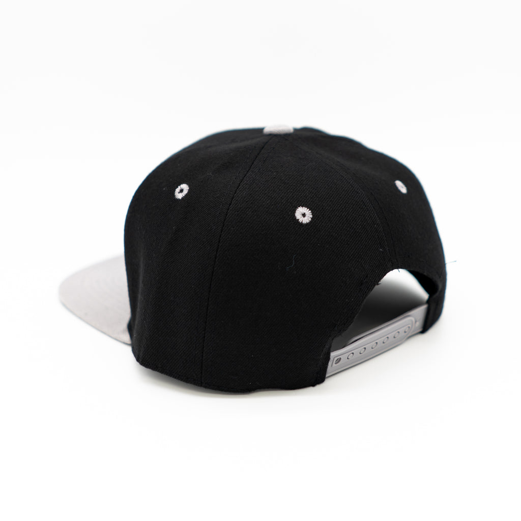 Home Team Snapback - Black & Grey