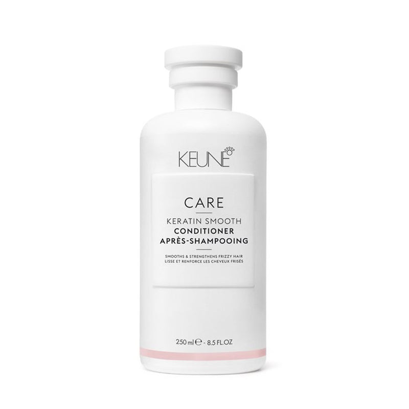 Le Conditioner Kératin Smooth Keune Care répare les cheveux frisés secs à  normaux. Nutrition intense. 250 ml.