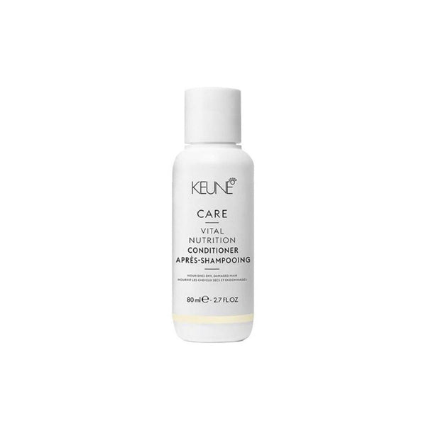Le conditionner Keune Care Vital Nutrition sublime les cheveux ternes. Format voyage 80 ml