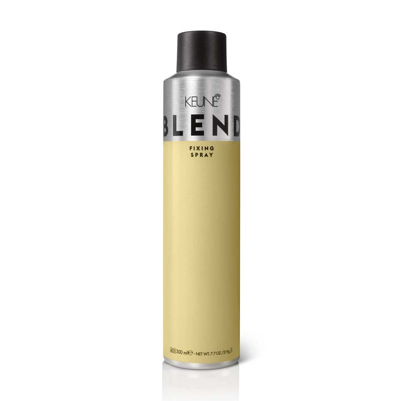 Le spray Blend Fixing Spray Keune, assure une tenue maximale et un volume impressionnant toute la journée. 300 ml.