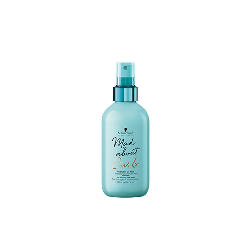 Mad About Curls Lait Boucles Enrichi en Huiles Pré-coiffant ou re-coiffant. 200ml Schwarzkopf