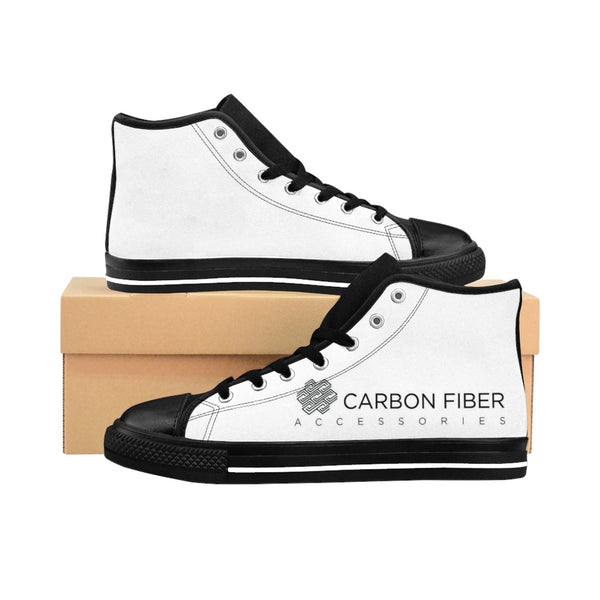 Men's High-top Sneakers - Black / US 9 - Shoes