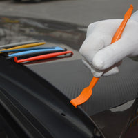 EHDIS Micro Magnet Squeegee Scraper For Car Styling Carbon