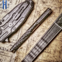 Tactical Pen Carbon Fiber Titanium Alloy Self-defense
