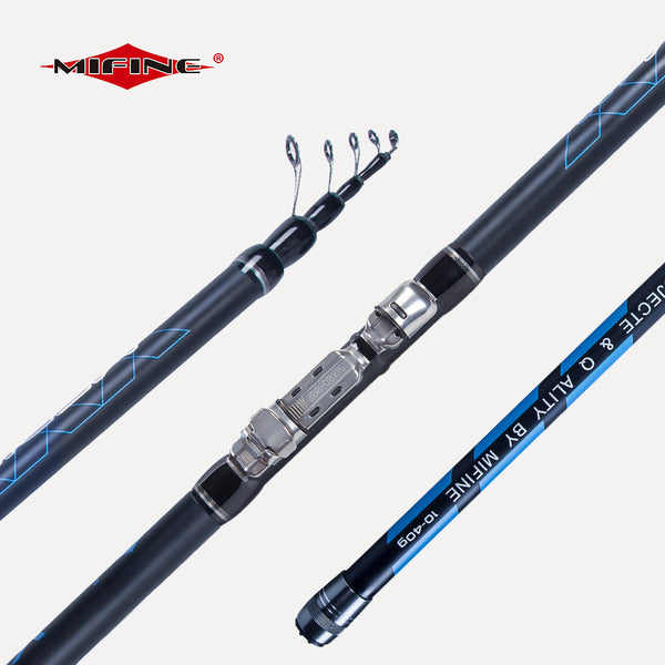 MIFINE MEDIUM Telescopic Bolo fishing rod 4M/4.5M/5M/6M