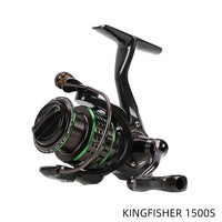 New TSURINOYA Kingfisher 800/1000/1500/1500S Spinning Reel