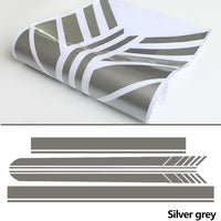 Edition 1 Side Skirt Hood Roof Racing Stripe Decal Sticker for Mercedes Benz C63 Coupe W205 Carbon Fiber Vinyl AMG C200 C43 C250 - 8k Carbon Fiber Accessories