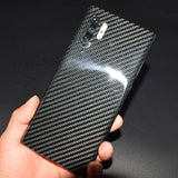 for Samsung Note 10 Plus Case Cover Luxury Slim Real Carbon
