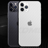 Carbon Fiber Back Screen Protector Film For iphone 11 Pro