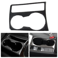 CITALL Car Interior Water Cup Holder Panel Carbon Fiber