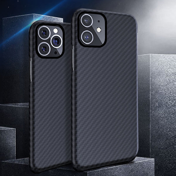0.7mm Ultra Thin Luxury Carbon Fiber Pattern For iPhone 11