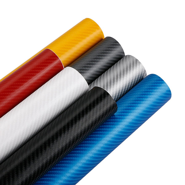 152cm*10/30/50cm 4D Carbon Fiber Vinyl Film Car Stickers Waterproof DIY Motorcycle Car Styling Wrap Auto Wrapping Vinyl Foil - 8k Carbon Fiber Accessories