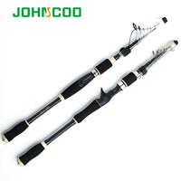 Travel Fishing Rod 1.8m 2.1m 2.4m 2.7m Telescopic Spinning