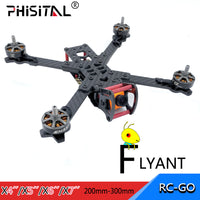 FPV frame drone carbon fiber racer kit for RC drone model