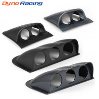 2 inch 52mm Racing Dash Board Dual Triple Gauge Pod Black