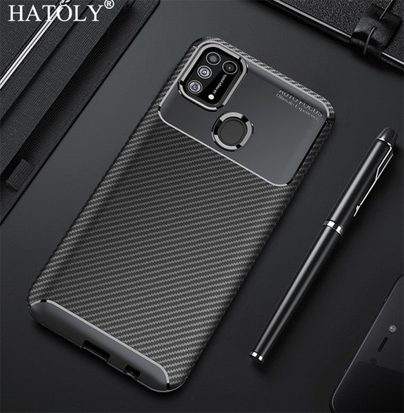 Case For Samsung Galaxy M31 Cover Ultra-thin Soft TPU