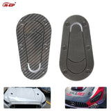 R-EP Universal Car Carbon Fiber Sticker for Hood Lock Racing