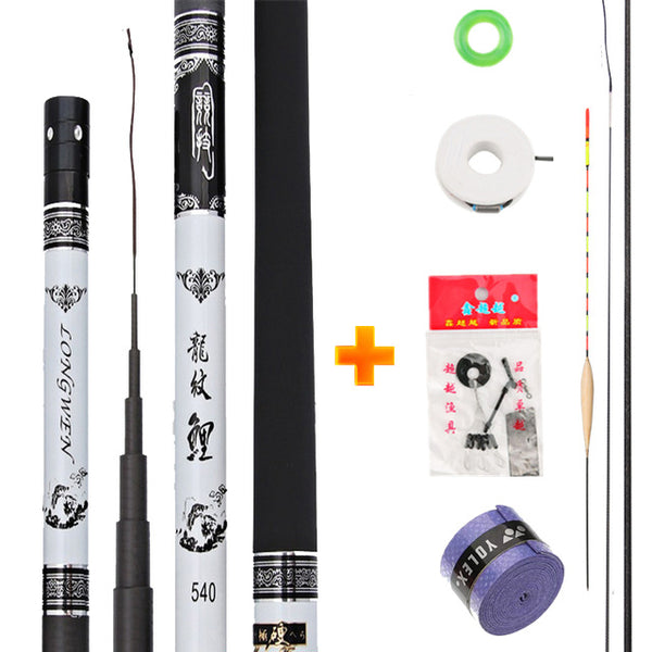 Extra Long High Carbon Fiber Telescopic Power Hand Pole