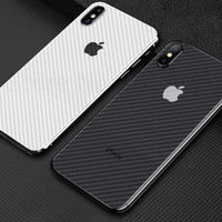 Carbon Fiber For iphone XS 7 8 XR X 6 6S XS Max 7 8 Plus 6