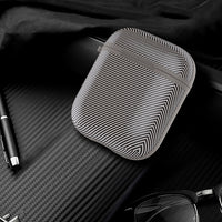 Cover For Apple Airpods Case Carbon Fiber Earphone