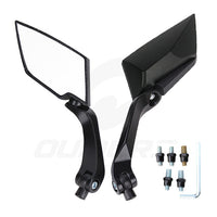 OUMURS Motorcycle Mirror Scooter E-Bike Rearview Mirrors