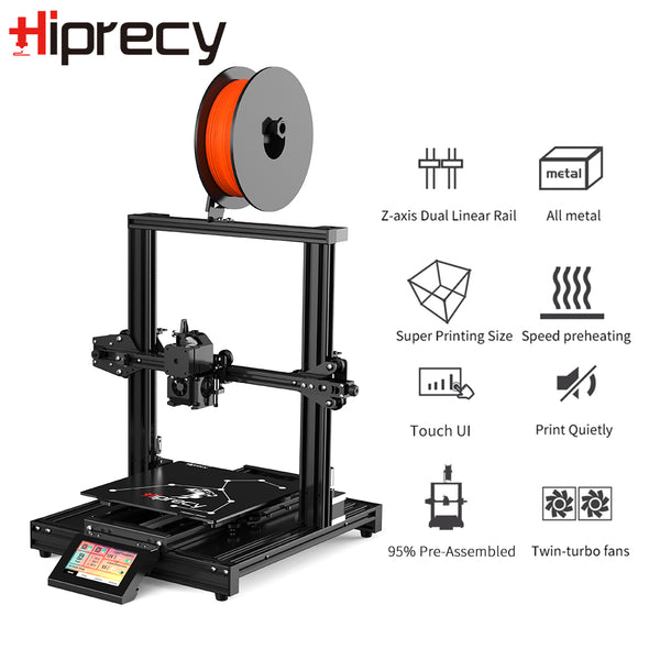 Hiprecy LEO 3D Printer Magnetic Heatbed ALL Metal Printer