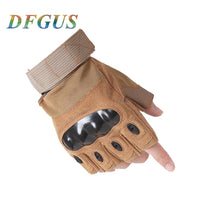 2018 Sale Us Army Men's Tactical Gloves Outdoor Sports Half