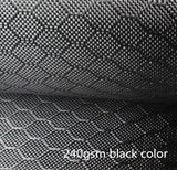 3K 240gsm 0.30mm hexagonal Honeycomb Carbon Fiber Fabric