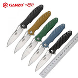 Ganzo Firebird FH71 D2 blade G10 or Carbon Fiber Handle