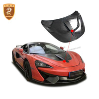 High Quality Hood For Mclaren 540C 570S Real Carbon Fiber Engine Hood Covers N style - 8k Carbon Fiber Accessories