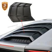 Car Accessories Dry Carbon Fiber Rear Engine Cover Fit For