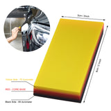 EHDIS 2in1 Car Tools 3-layer Carbon Fiber Vinyl Squeegee
