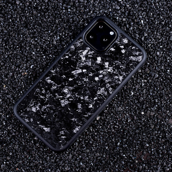 2019 Newest Non Slip Back Cover Real Forged Carbon Fiber