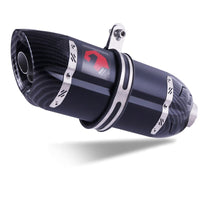Universal Carbon Fiber Motorcycle Exhaust Pipe Muffler