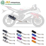 Motorcycle Stainless Steel Exhaust Escape Muffler Middle