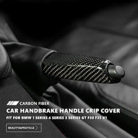 Real Carbon Fiber Gear Shift Panel Cover For BMW 3 Series