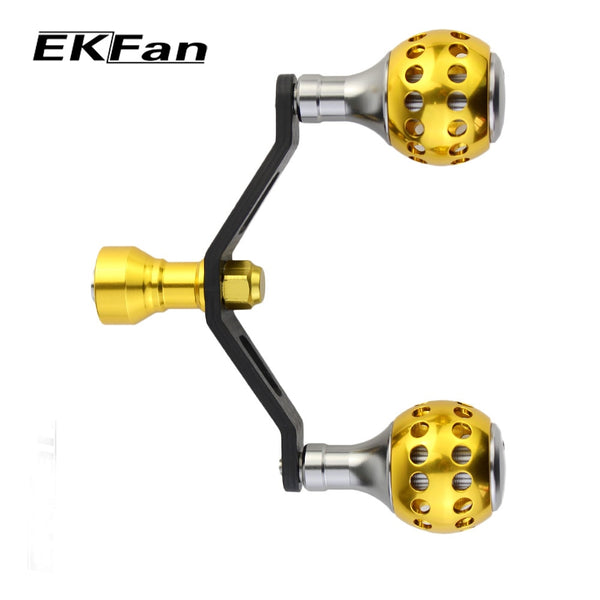 EKFan 1pc New Design Carbon Fiber Handle With Aluminum Alloy