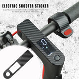 Electric Scooter Sticker Carbon Fiber Waterproof Non-slip Protective Film for Xiaomi M365 Pro Scooter Accessories Black - 8k Carbon Fiber Accessories