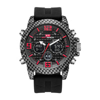 Kt1804 Men Sports Table Carbon Fiber Watch Outdoor Sports