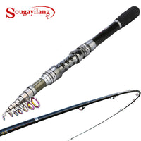 Sougayilang 1.8-3.3M Telescopic Spinning Fishing Rod 99%