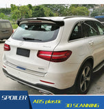 For Benz GLC300 Spoiler GLC200 Spoiler ABS Car Rear Wing