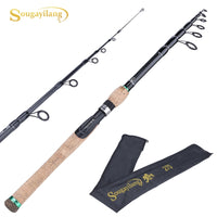 Sougayilang New Telescopic Lure Rod 1.8M 2.1M 2.4M 2.7M