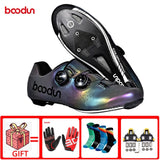 boodun road cycling shoes professional racing road bike