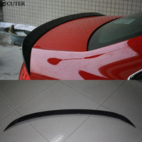 A4 B8 B9 Carbon Fiber ABT type Car Rear Wings Trunk Lip