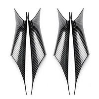 Car Styling Interior Carbon Fiber Texture Door Pull Handle